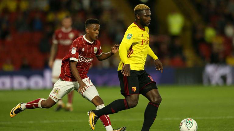 Watford Forward Isaac Success Joins Malaga on Loan Until End of Season