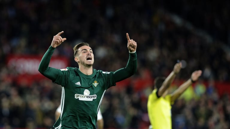 Host of Premier League Teams Scouts Flock to Watch Prodigal Real Betis Youngster Fabian Ruiz