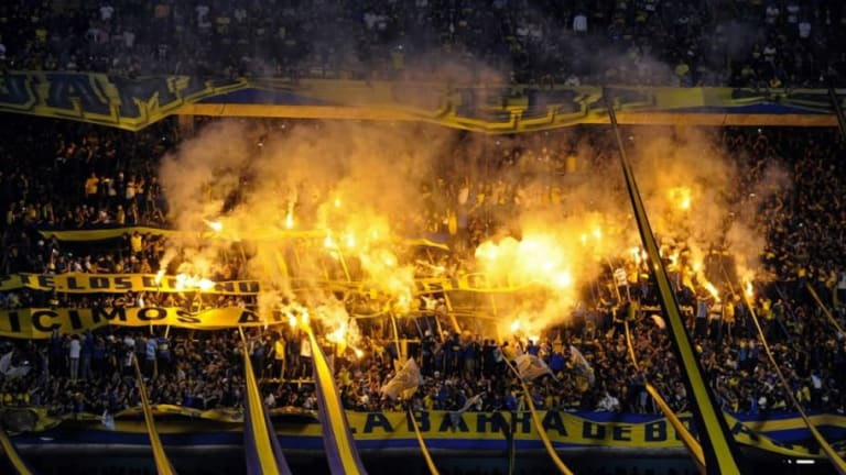 PICANTE | Pintaron la Bombonera con frases de ex jugadores de River
