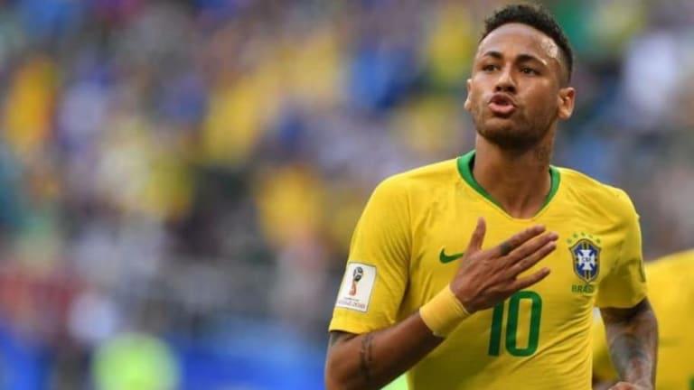 POLÉMICO | El piedrazo de Neymar a México tras vencerlos en octavos de final