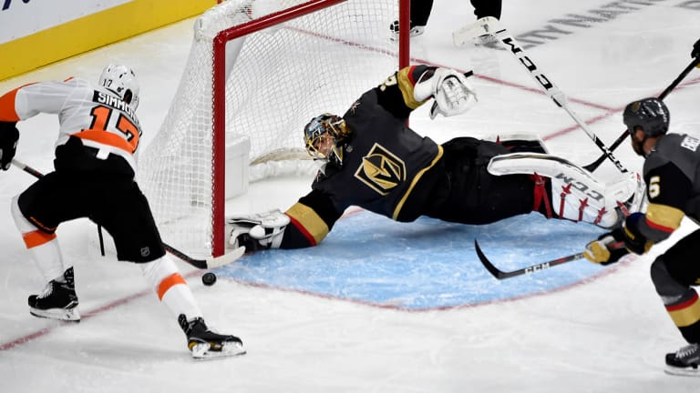 Vegas Gets Rude Wake-Up Call in 2018-19 Opener After Celebrating Improbable Debut Season