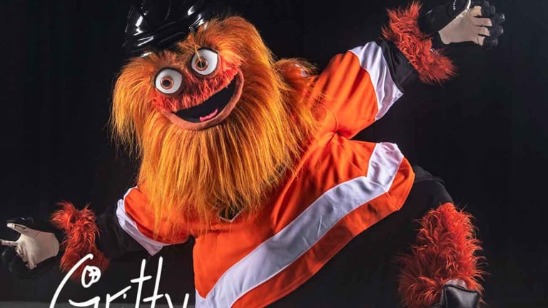 A Whole Bunch of Thoughts About the Flyers' Weird New Mascot, Gritty