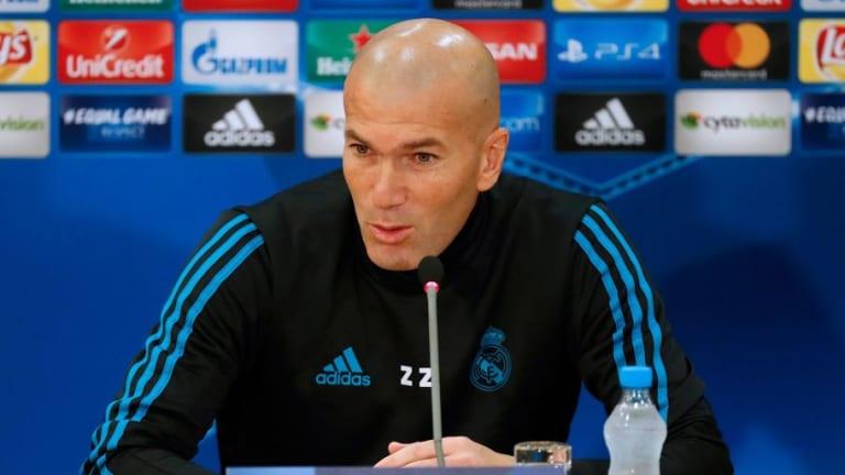 """Zidane: """"Esto no está acabado, afrontamos la Champions con ilusión"""""""