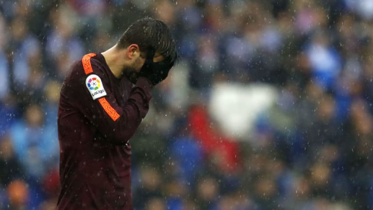 Barcelona Defender Gerard Pique Could Serve 3-Match Ban for 'Provocative' Espanyol Celebration