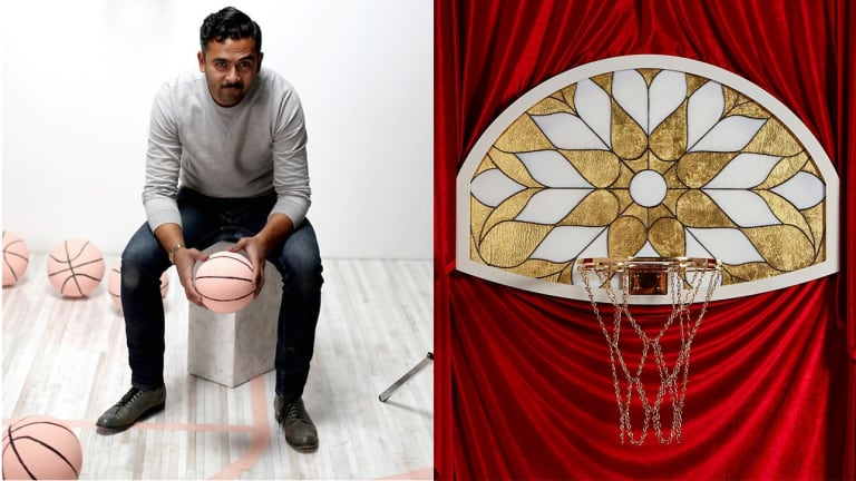 Look But Don't Dunk: Meet the NBA's New Bling King of Luxury Backboards