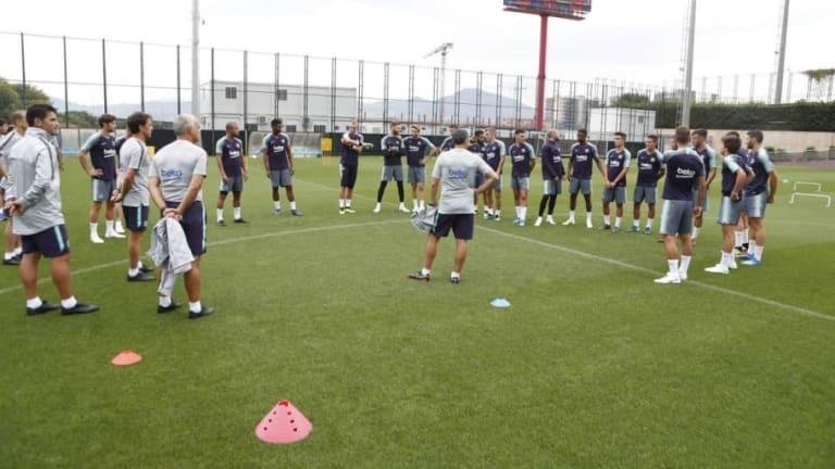 Los 7 jugadores del filial que pueden ir de gira americana con el FC Barcelona