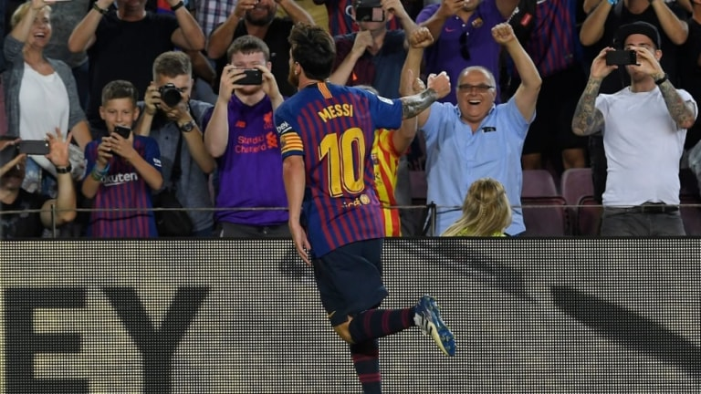 Barcelona 3-0 Alaves: Report, Ratings & Reaction as Messi Opens Account With Barça's 6000th Goal