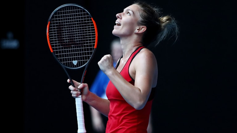 Simona Halep Outlasts Angelique Kerber in Three Sets to Secure Spot in Australian Open Finals