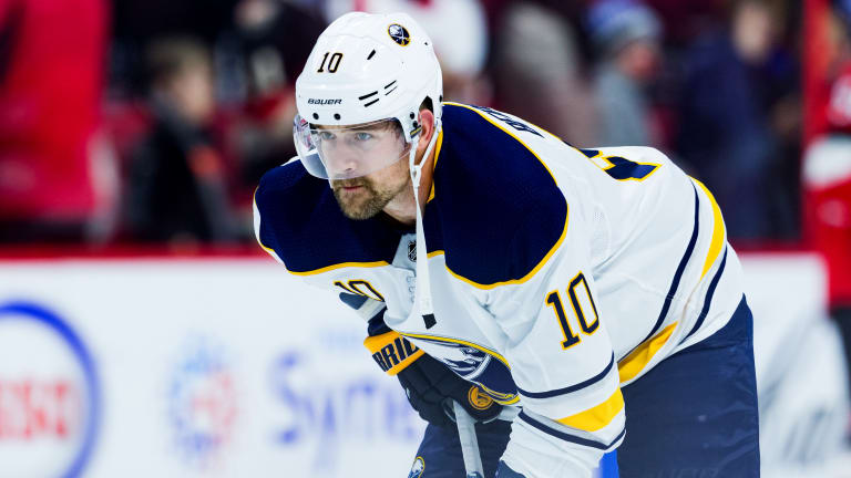 Sabres' Patrik Berglund Clears Waivers; Contract Will Be Terminated