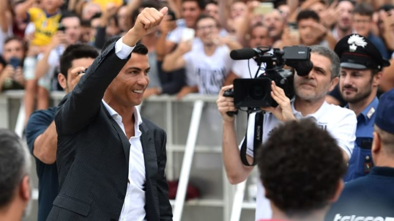 Juventus Boss Allegri Warns Fans Over 'Euphoria' After Cristiano Ronaldo Arrives in Turin