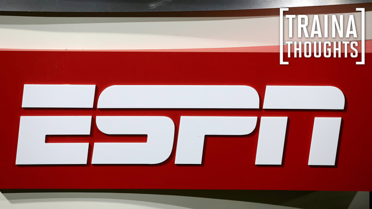 Traina Thoughts: New ESPN President Says Network 'Isn't a Political Organization'
