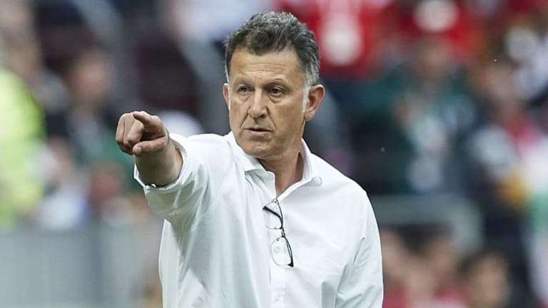 Juan Carlos Osorio Claims His Mexico Side 'Played With the Love of Winning' During Germany Victory