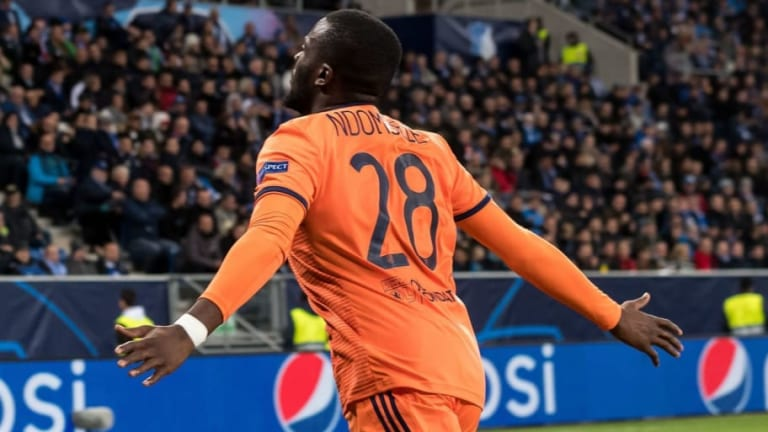 Tottenham Face Competition From Juventus Over French Midfield Star Tanguy Ndombele