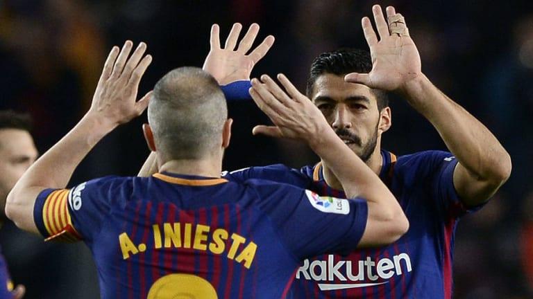 Barca Captain Andres Iniesta Blames Fatigue for Failure to Overcome Getafe in La Liga Stalemate