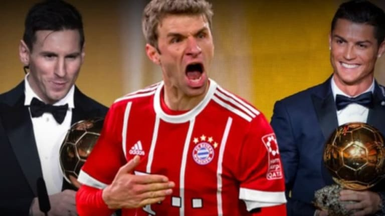 El futbolista que puede terminar con el dominio de Messi y Cristiano en el Balón de Oro según Müller