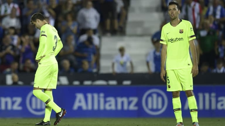 El Leganés deja al descubierto las costuras del Barcelona
