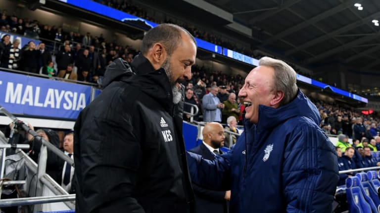 Nuno Espirito Santo Admits Wolves in 'Bad Moment' After Cardiff Defeat