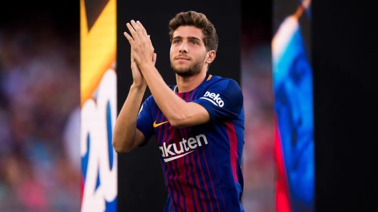 OFICIAL   Sergi Roberto renueva con el Barcelona hasta 2022