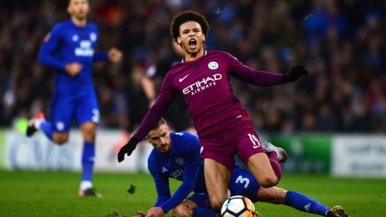 German FA Ask Cardiff Not to 'Hurt Our Players' After Horror Tackle on Man City's Leroy Sane