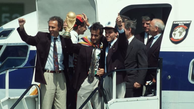 World Cup Countdown: 7 Weeks to Go - West Germany Win Italia '90 Against a Backdrop of Reunification