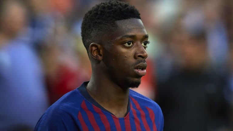 Report Claims Ousmane Dembele Is 'Furious' With Barcelona Following Signing Of Bordeaux Star