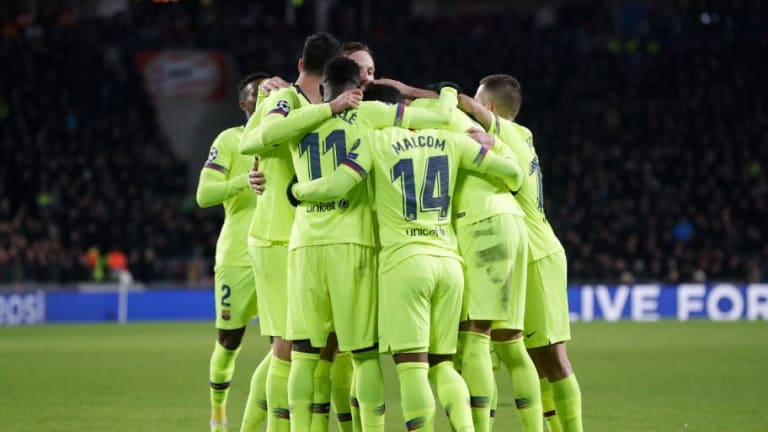 PSV 1-2 Barcelona: Report, Ratings & Reaction as Blaugrana Secure Top Spot in UCL Group B