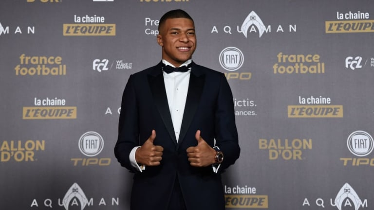 Photo: PSG Post Glorious Update of Iconic Kylian Mbappe Bedroom Picture After He Wins Kopa Award