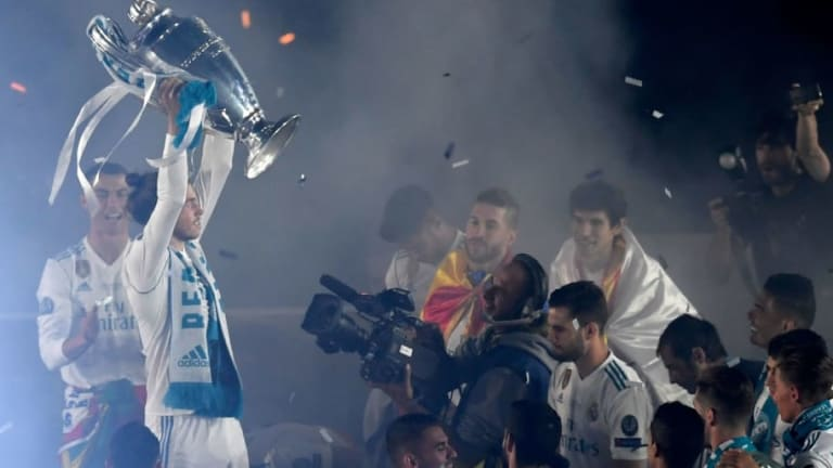 Report Reveals What Bale Did With Liverpool Players Post UCL Final & It Suggests He's Unsettled