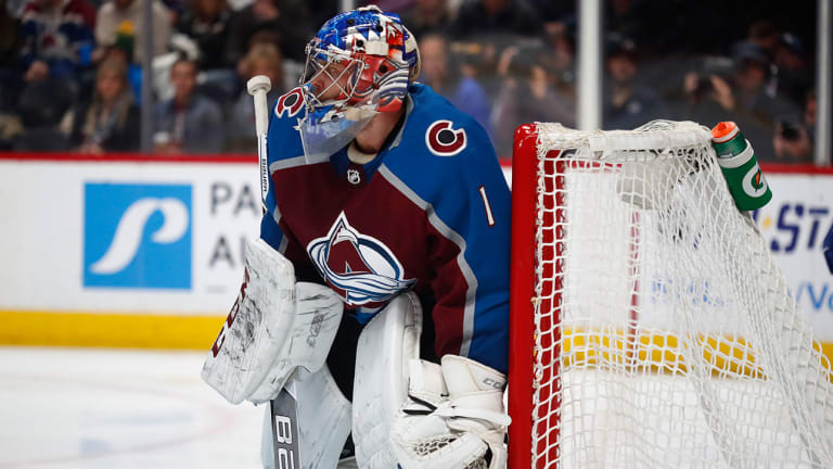 Avalanche Goalie Semyon Varlamov Sick, Questionable for Big Game Against Flyers
