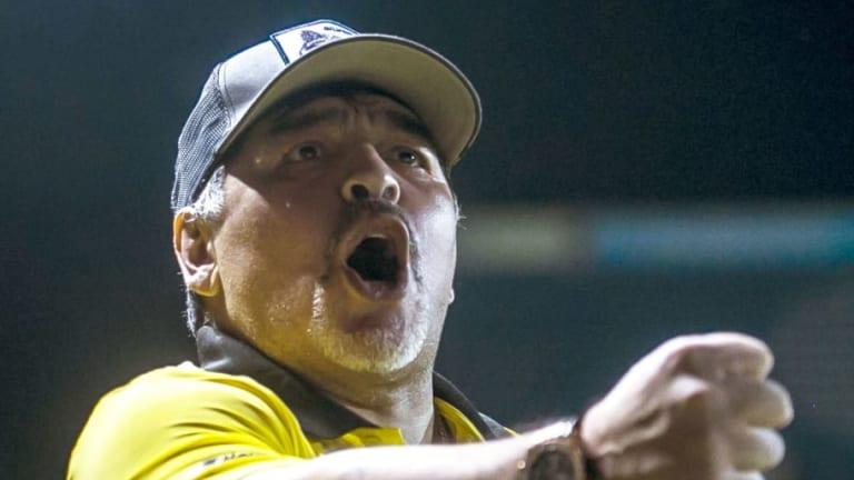 REVELADO | La comida preferida de Maradona en México