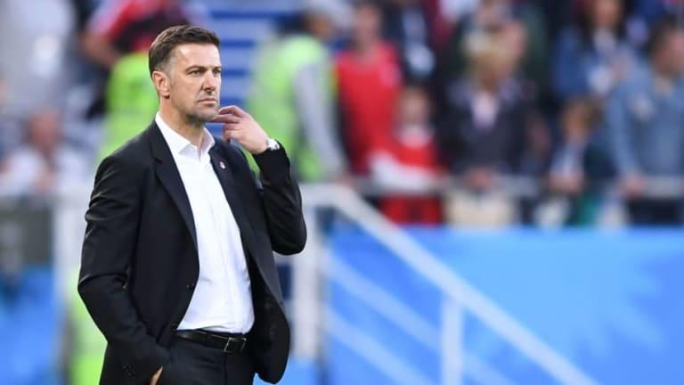 Serbia Coach Mladen Krstajic 'Disturbed' After Late 2-1 Switzerland Defeat & Dismisses Penalty Claim