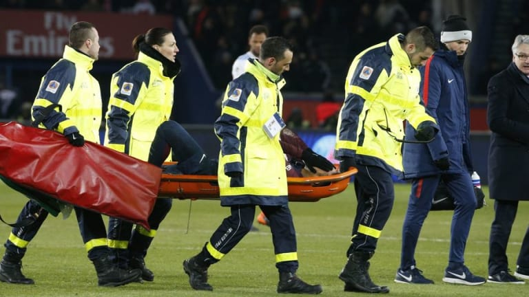 Neymar Set to Miss Real Madrid Champions League Tie After Suffering Fractured Metatarsal