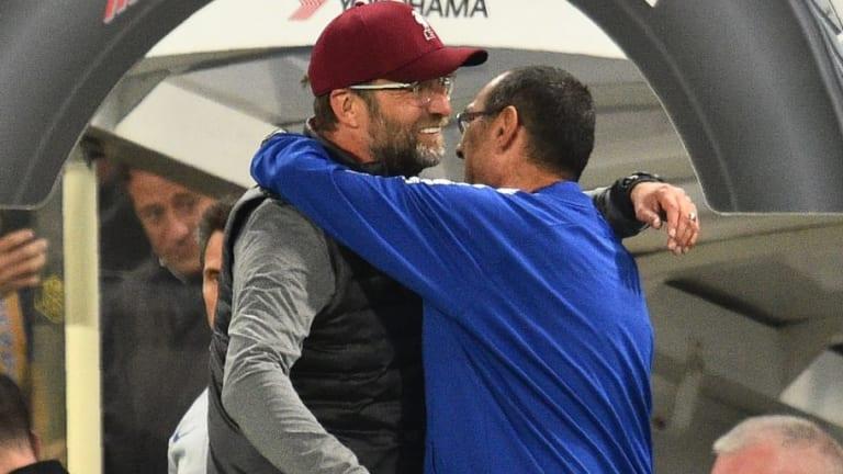Maurizio Sarri Reveals What Jurgen Klopp Said to Him Before Liverpool's Equaliser Against Chelsea