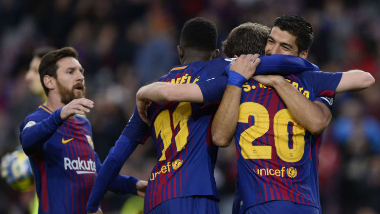 1X1 de los jugadores del FC Barcelona en la victoria frente al Levante (3-0)