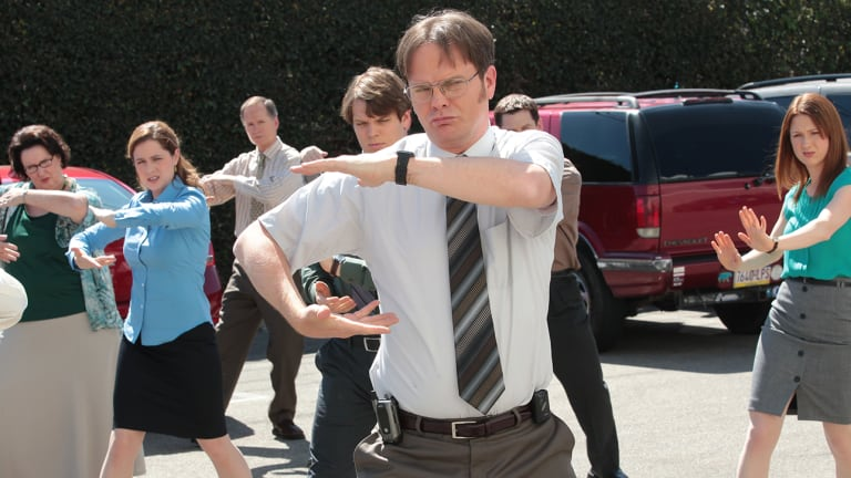 Traina Thoughts: Rainn Wilson Bashes World Cup, People Respond With 'The Office' Memes