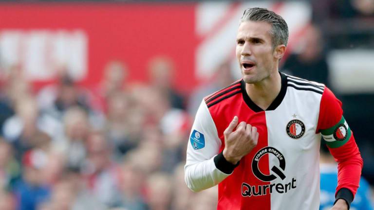ADIÓS VAQUERO | Robin Van Persie anunció su retiro del fútbol