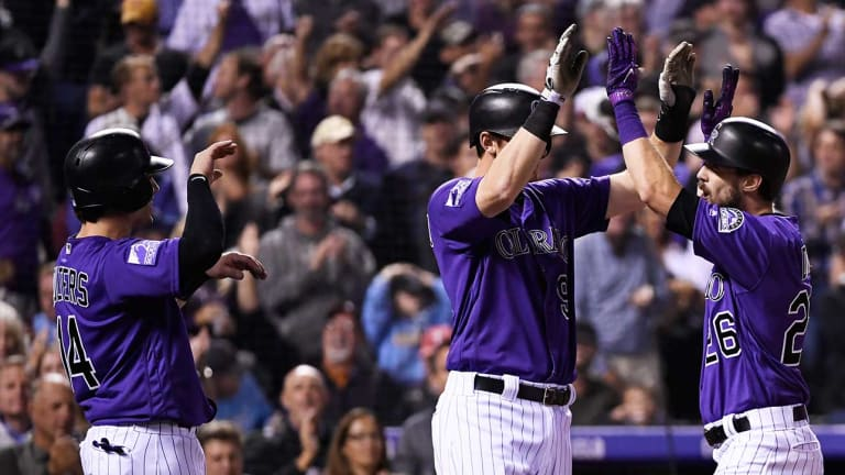 Rockies Roll Phillies to Claim First Place in NL West