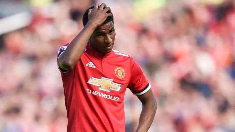 Man Utd Chasing New Striker With Jose Mourinho Still Not Convinced by Marcus Rashford