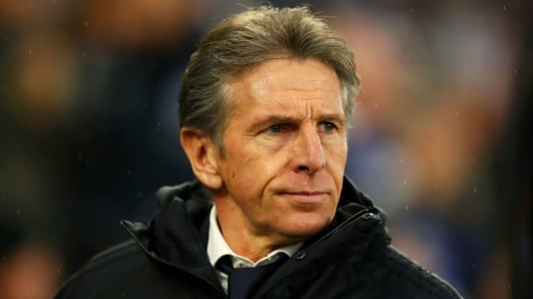 Leicester Boss Claude Puel Claims Point Against Brighton Felt Like Win After 1-1 Draw