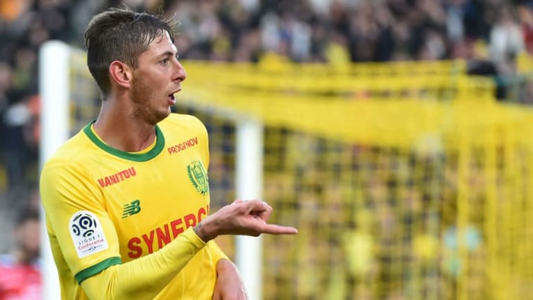 Nantes Place £25m Price Tag on Star Striker Emiliano Sala Amid Premier League Interest