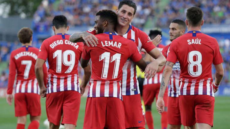 El jugador del Atlético que podría llegar al derbi tras recuperarse de su lesión