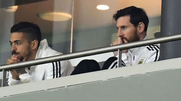 VIDEO: Injured Lionel Messi Walks Out During Argentina's Abysmal 6-1 Defeat to Spain