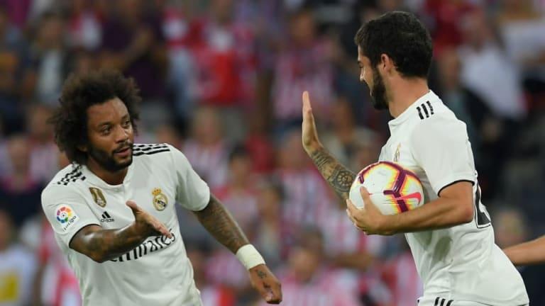 BUENAS NOTICIAS PARA EL REAL MADRID | Marcelo e Isco vuelven a entrenar con el grupo