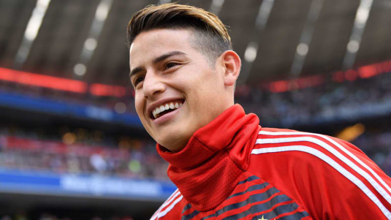 Bayern Munich's James Rodriguez Rules Out Returning to Real Madrid Amid Speculation Over Loan Deal