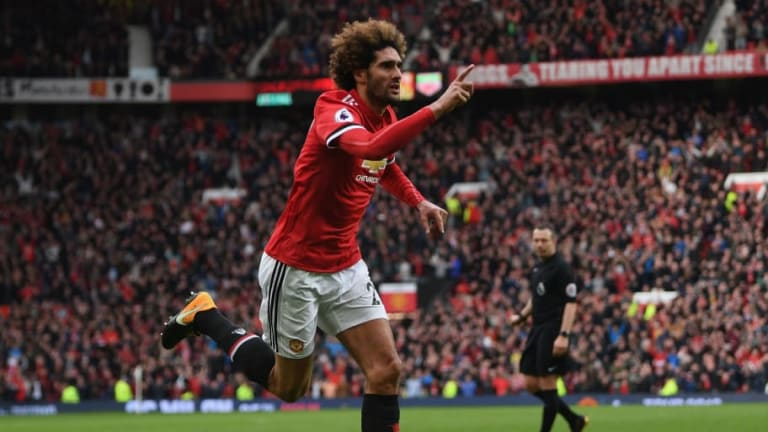Marouane Fellaini Seeking Pay Rise as Manchester United Look to Agree Contract Extension