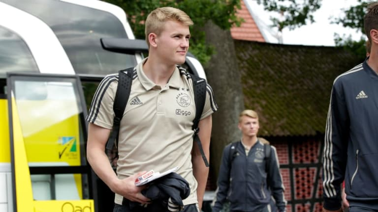 Juventus Reportedly Agree Personal Terms With Barcelona & Tottenham Target Matthijs De Ligt