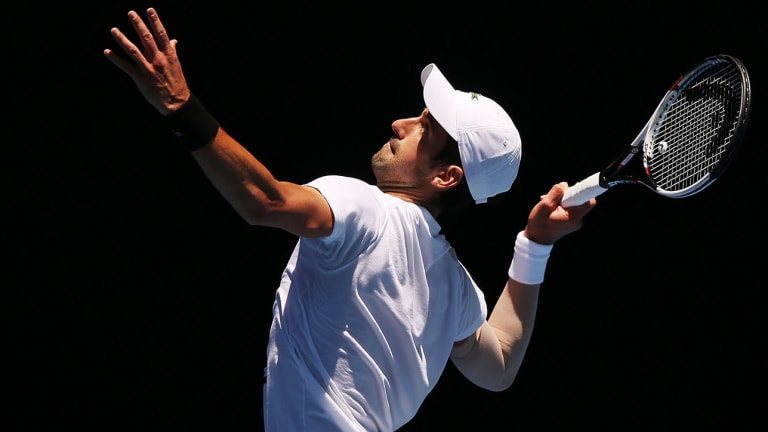 Novak Djokovic Returns With Rebuilt Serve at Australian Open