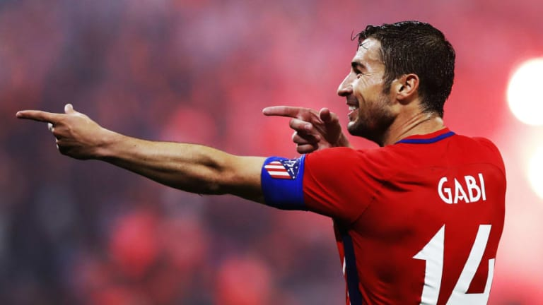 Gabi se marcha del Atlético de Madrid