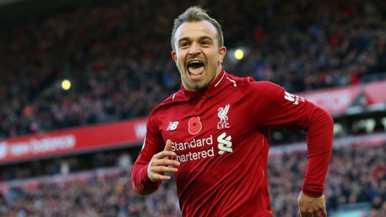 Xherdan Shaqiri 'Certain' to Play in Sunday's Merseyside Derby After Missing PSG Defeat