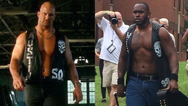 Traina Thoughts: Stone Cold! Stone Cold! Stone Cold! Steelers' Vince Williams Comes to Camp as Steve Austin and It's Awesome